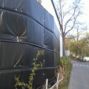 Lärmschutz für Bauzäune