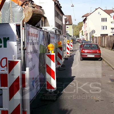 Bauzaun in Heilbronn mieten